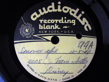 002 A Label Walt Disney Acetate