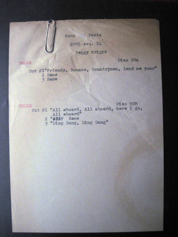 003 list Walt Disney Acetate