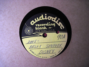 003 A label Walt Disney Acetate