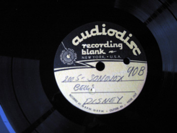 003 B label Walt Disney Acetate