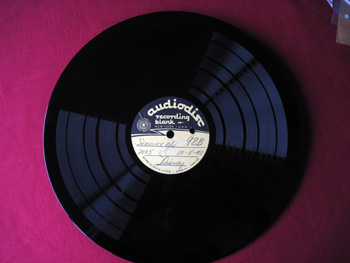 005 B label Walt Disney Acetate