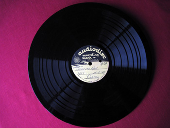 006 Disc Walt Disney Acetate