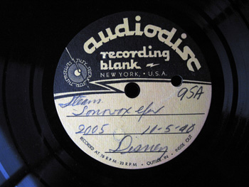 006 A Label Walt Disney Acetate