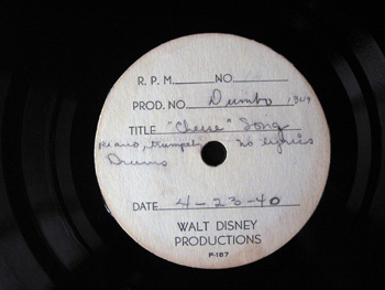 020 A Dumbo 1940 recording